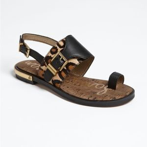 NWOB sam edelman Flynn cheetah print sandals